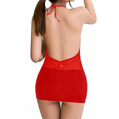 Liona Büyük Beden Seksi Mini Elbise